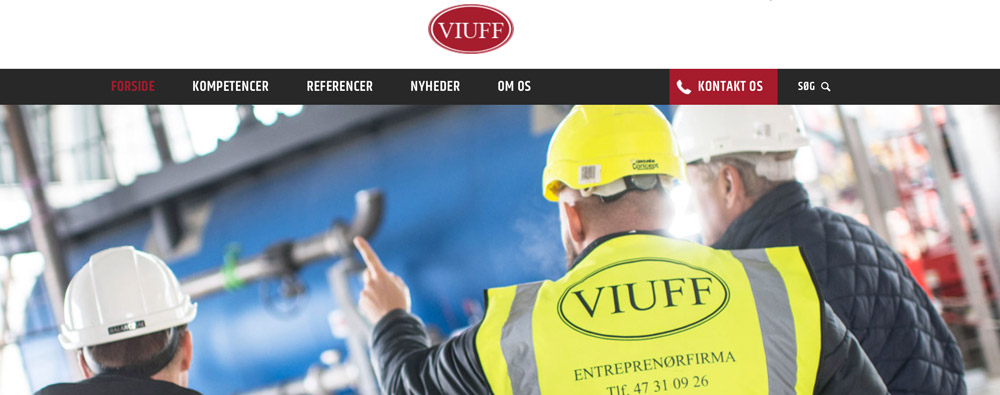 Viuff Anlæg nyt site nyhed